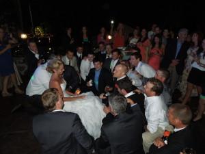 Denver bride gets serenaded at her wedding