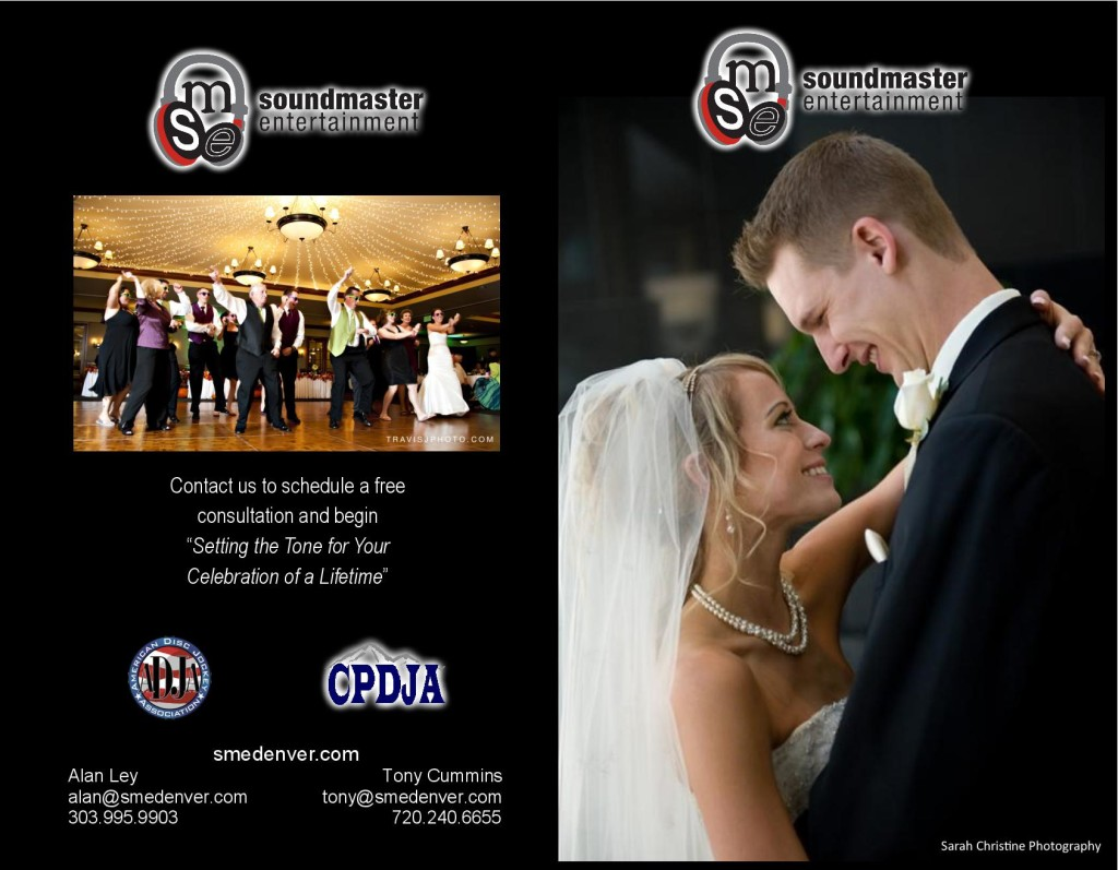 Denver DJ Wedding Brochure1