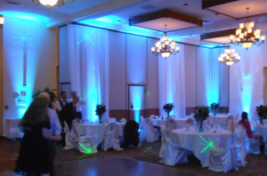 denver lighting uplighting events