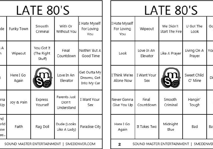 Late 80s